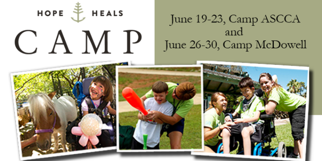 Hope Heals Camp - Camp McDowell