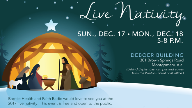 Live Nativity - Montgomery