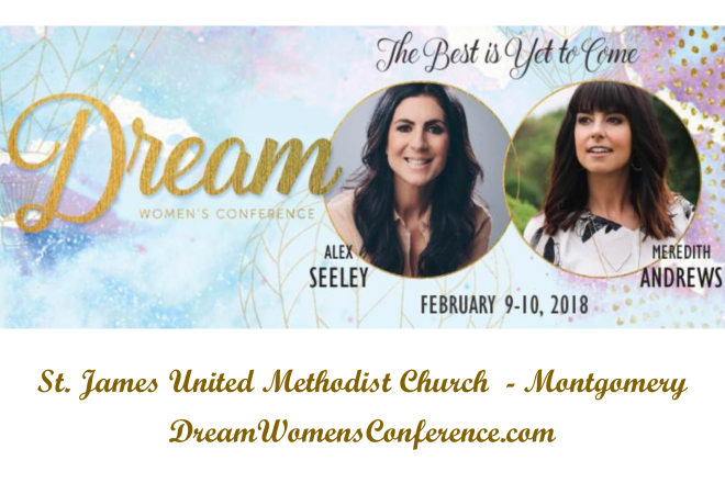 2018 Dream Conference with Alex Seeley and Meredith Andrews - Montgomery