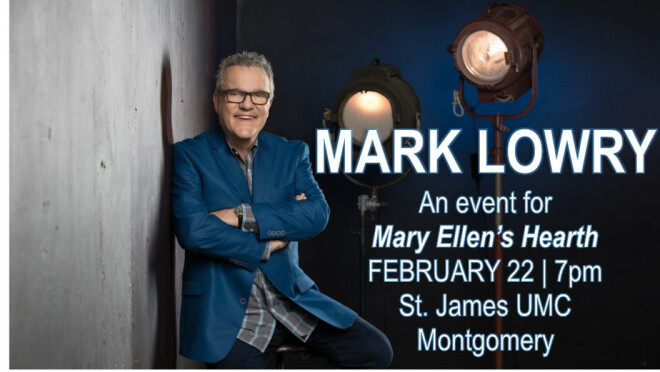 Mary Ellen's Hearth's An Evening with Mark Lowry - Montgomery