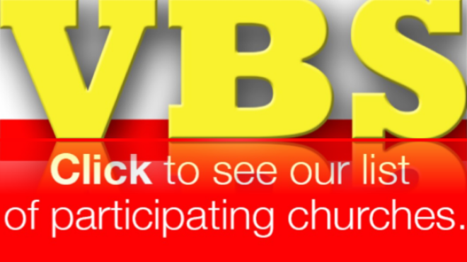 Vacation Bible School - Week of July 8-13