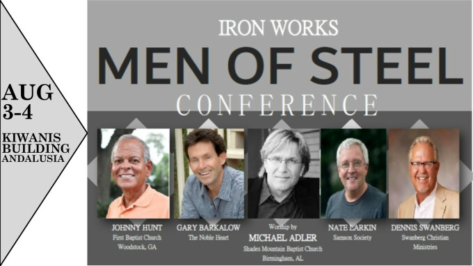 Perry, Mark - Iron Works {Men of Steel Conference}