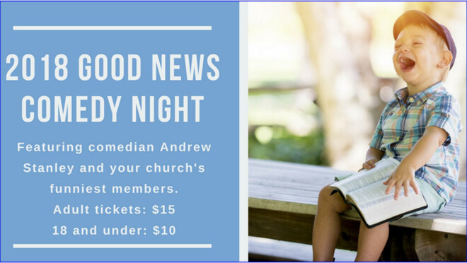 Good News Comedy Night with Andrew Stanley - Montgomery