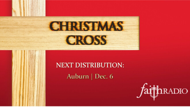 Christmas Cross Distribution - Auburn