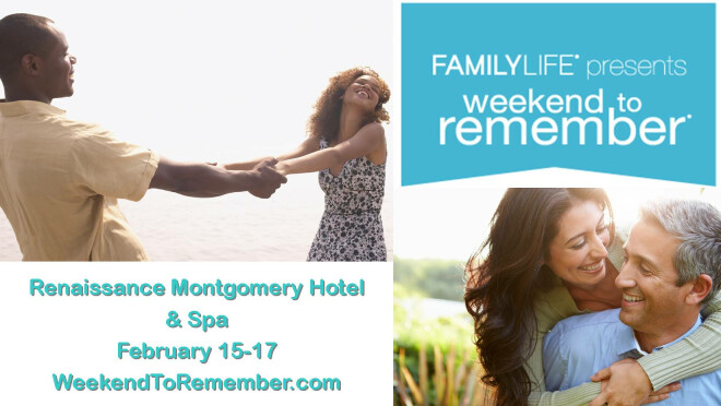 Family Life Weekend to Remember Begins - Montgomery