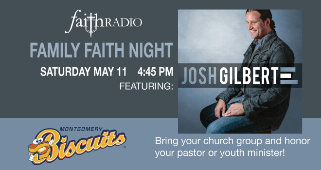 Family Faith Night with the Montgomery Biscuits - Montgomery