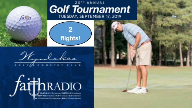 Faith Radio Golf Tournament - Montgomery