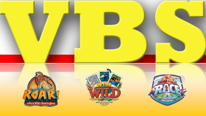 Vacation Bible School - Week of June 9-14, 2019