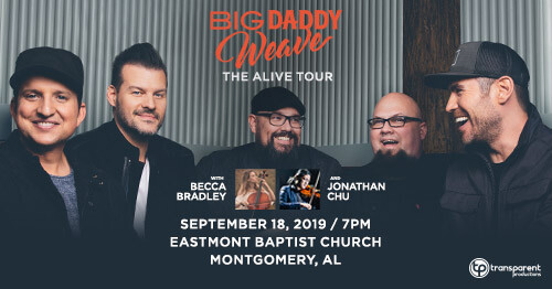 "Big Daddy Weave: Weaver, Mike - The ""Alive"" Tour"