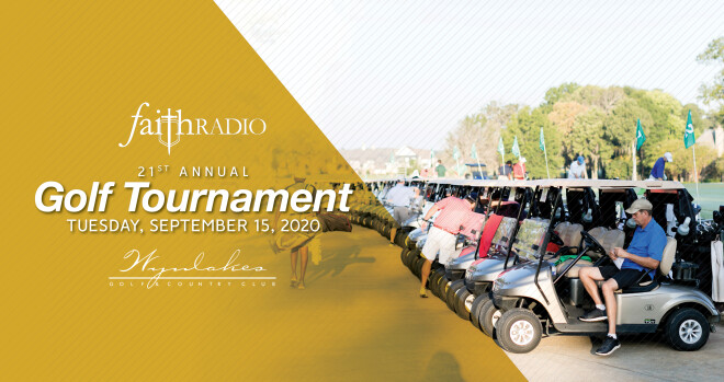 Faith Radio Golf Tournament 2020 - Montgomery